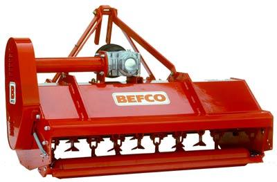 Befco flail mower