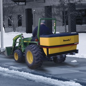dump box spreader snowex