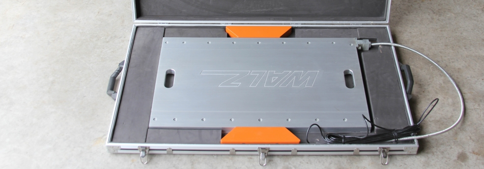 portable truck scale weighing carrying case