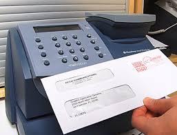 postage meter mailing machines