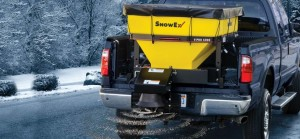 snowex truck bed mounted spreaders