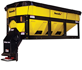 truck bed spreader snowex