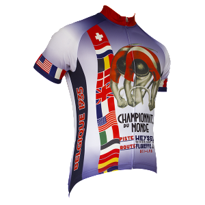 1935 World Championships Vintage Cycling Jersey