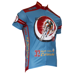 1952 Cataluna Vintage Cycling Jersey