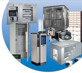bank security systems equipment