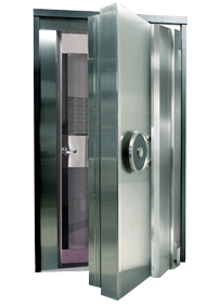 bank vaults doors security systems