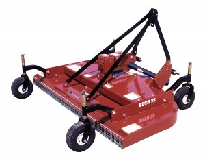 Bush Hog RDTH72 finish mower parts