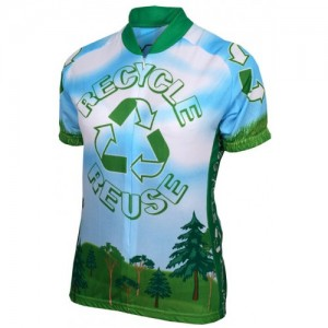 Recycle Reuse Women's Cycling Jersey