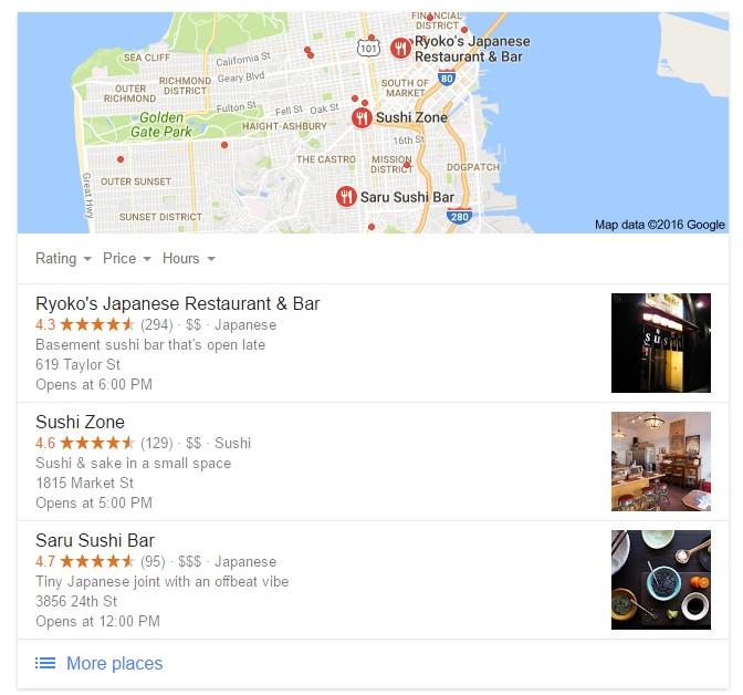 Google Maps marketing and optimization